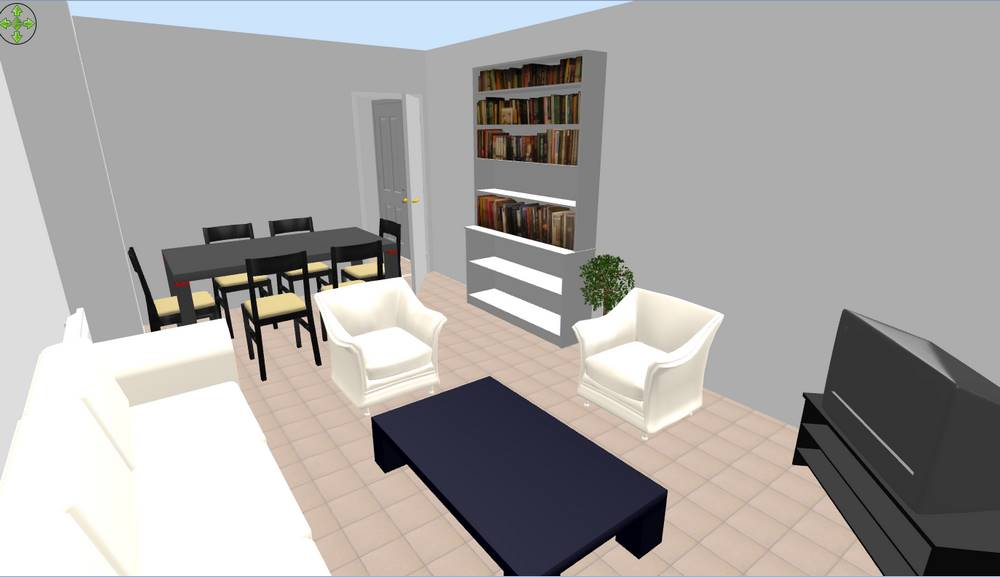 Conseil am nagement interieur appartement for Plan 3d amenagement interieur